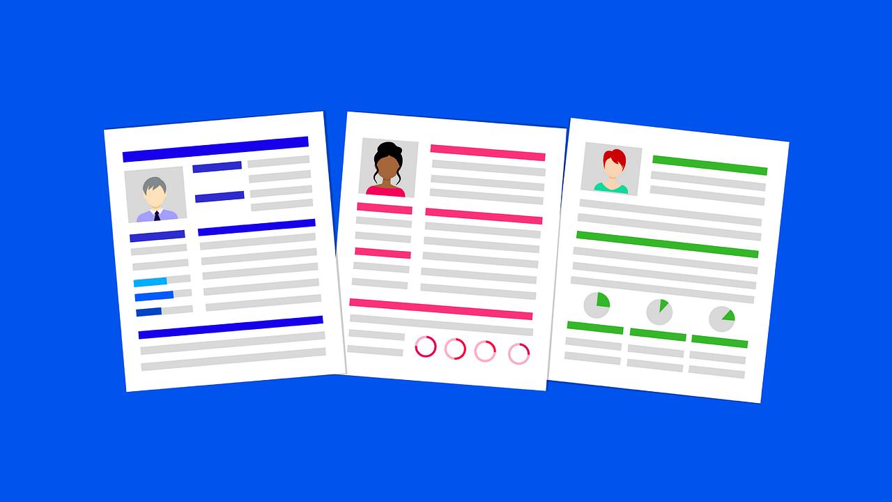 Modèles de CV minimaliste